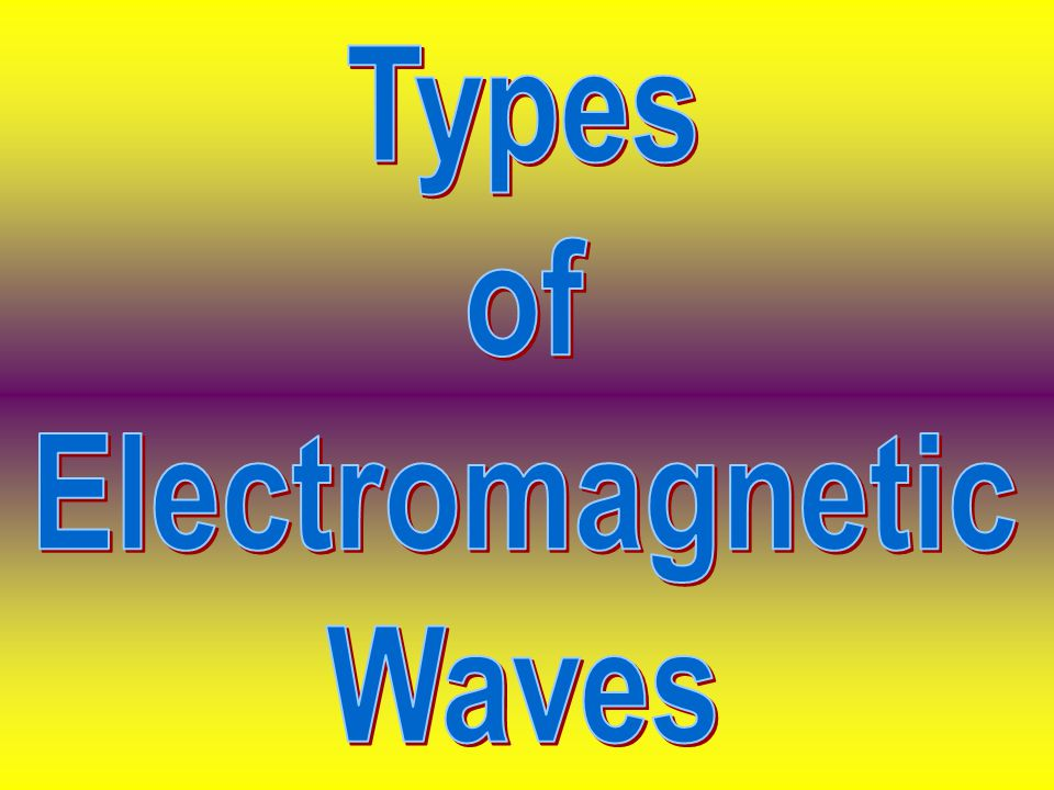 Journal Entry Essential Questions How are electromagnetic waves and mechanical wave alike and different? What are the parts of the electromagnetic spe