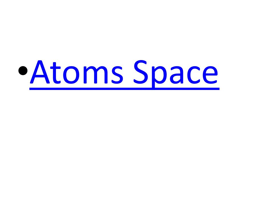 Atoms Space