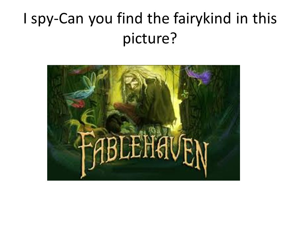 I spy-Can you find the fairykind in this picture