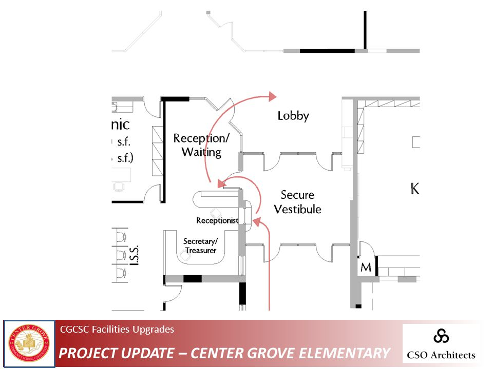 CGCSC Facilities Upgrades PROJECT UPDATE – CENTER GROVE ELEMENTARY