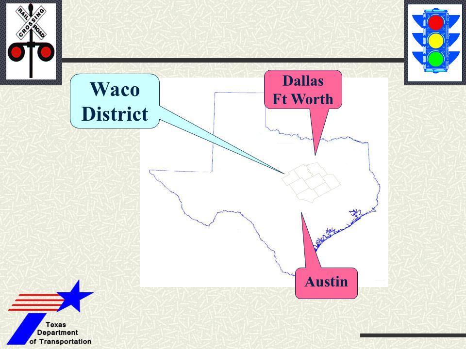 Waco District Dallas Ft Worth Austin