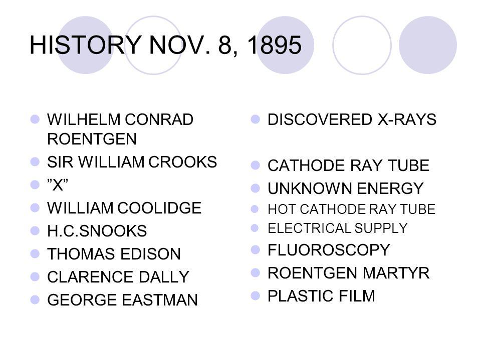 HISTORY NOV.
