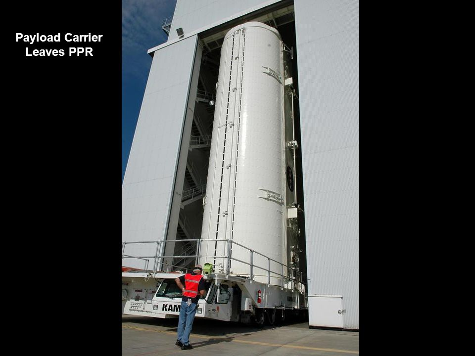 Payload Carrier Leaves PPR