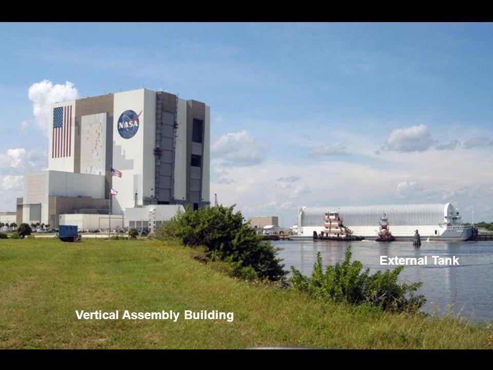 Vertical Assembly Building External Tank
