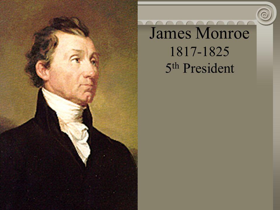 James Madison 1809-1817 4 th President