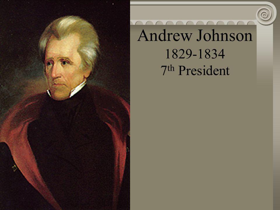 John Quincy Adams 1825-1829 6 th President