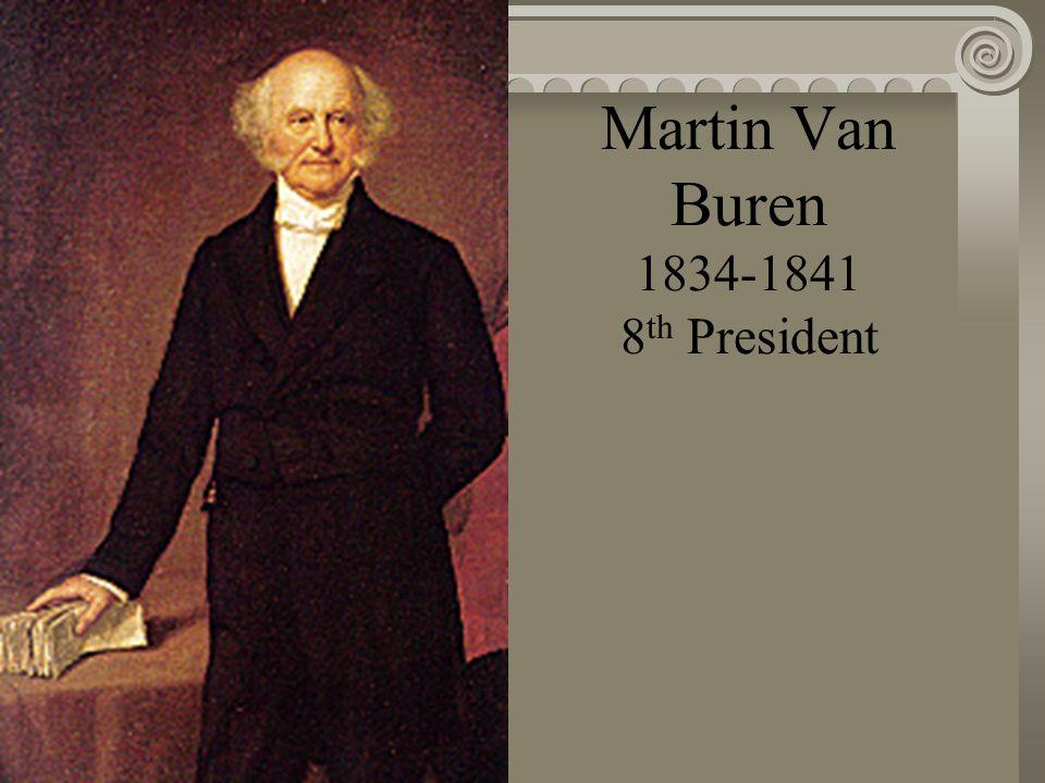 Andrew Johnson 1829-1834 7 th President