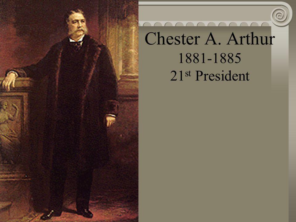 James A. Garfield 1881 20 th President