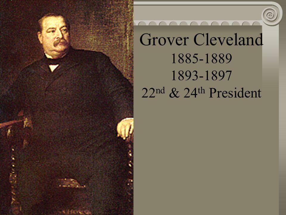 Chester A. Arthur 1881-1885 21 st President