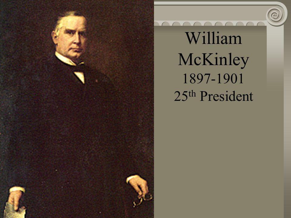 Benjamin Harrison 1889-1893 23 rd President
