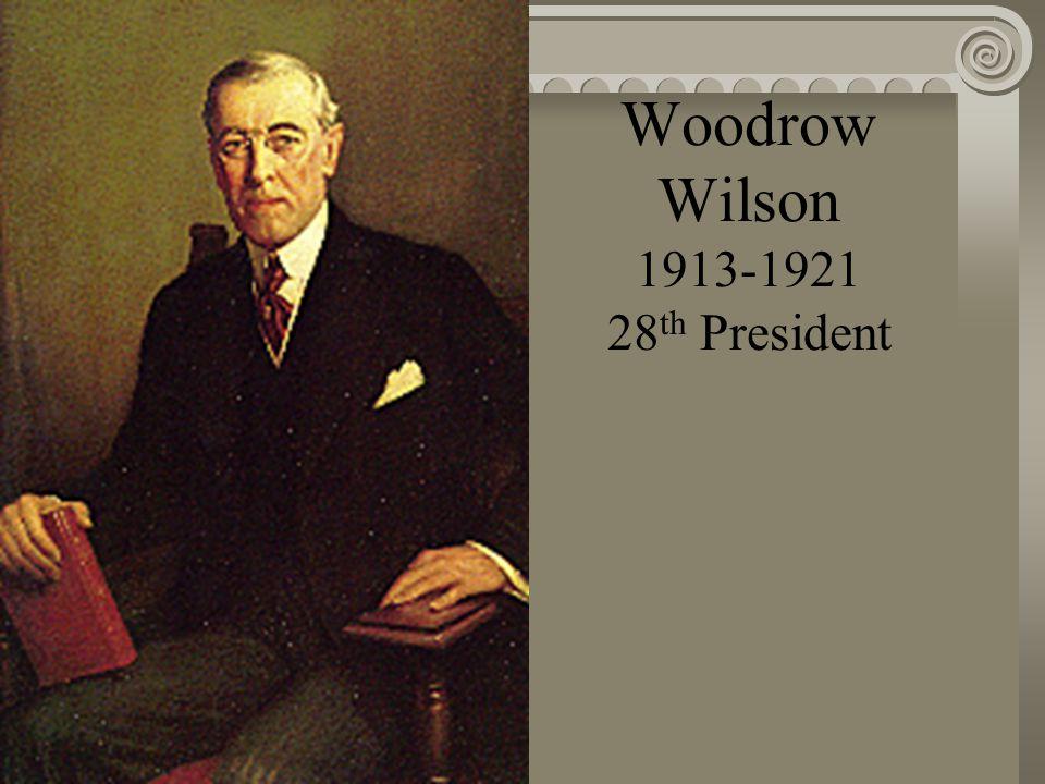 William H. Taft 1909-1913 27 th President