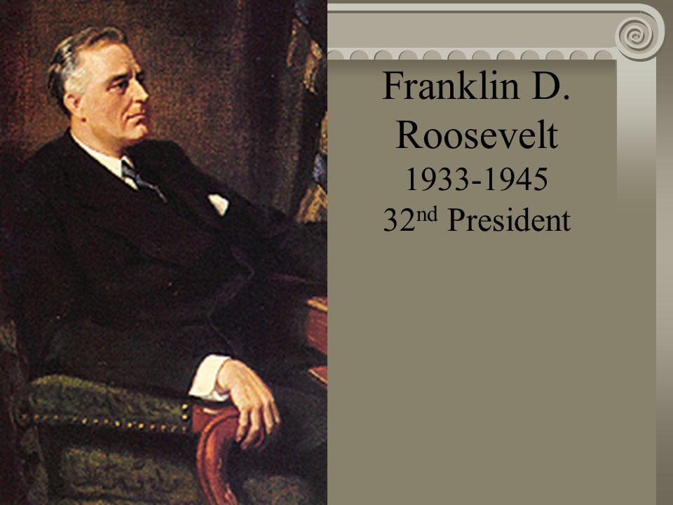 Herbert Hoover 1929-1933 31 st President