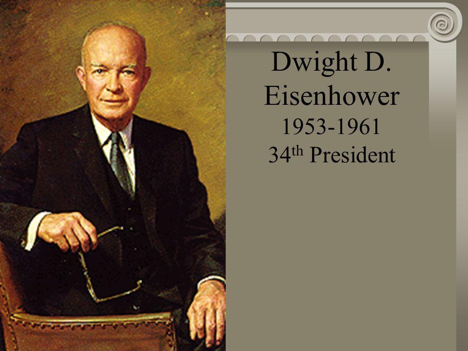 Harry S Truman 1945-1953 33 rd President