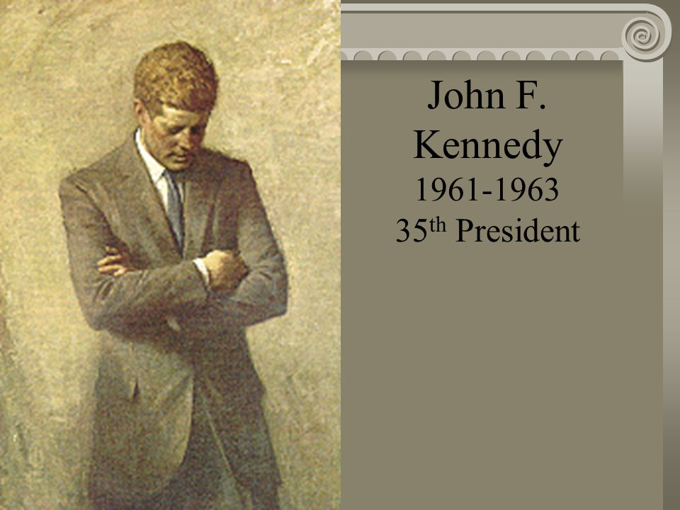 Dwight D. Eisenhower 1953-1961 34 th President
