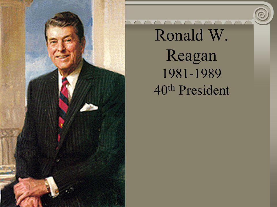 Jimmy Carter 1977-1981 39 th President