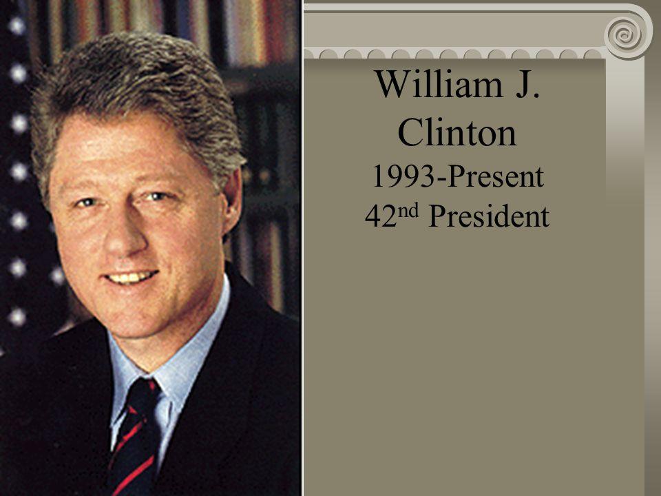 George Bush 1989-1993 41 st President