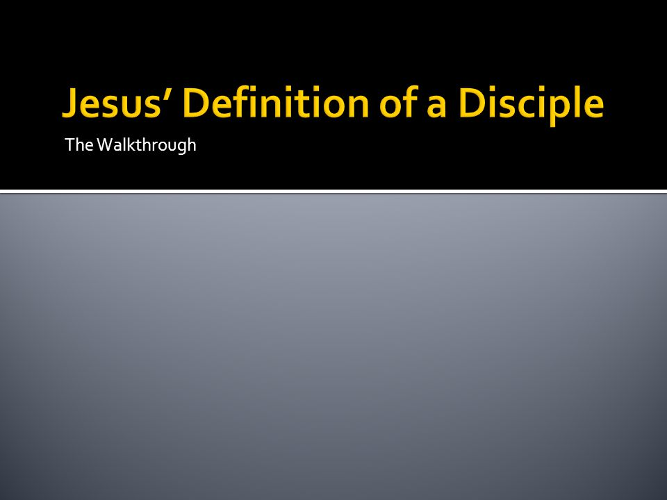 Answers to Questions Scripture: John 8:31-32 A.A disciple continually abides in Christ's Word B.