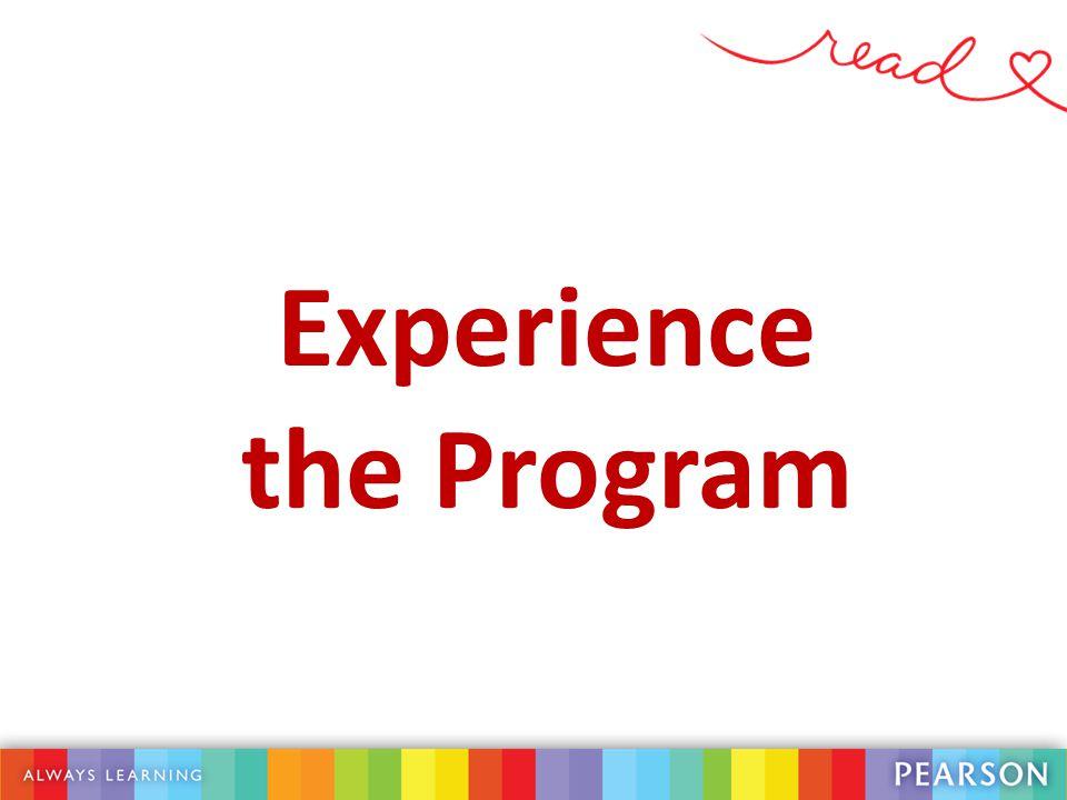 Experience the Program