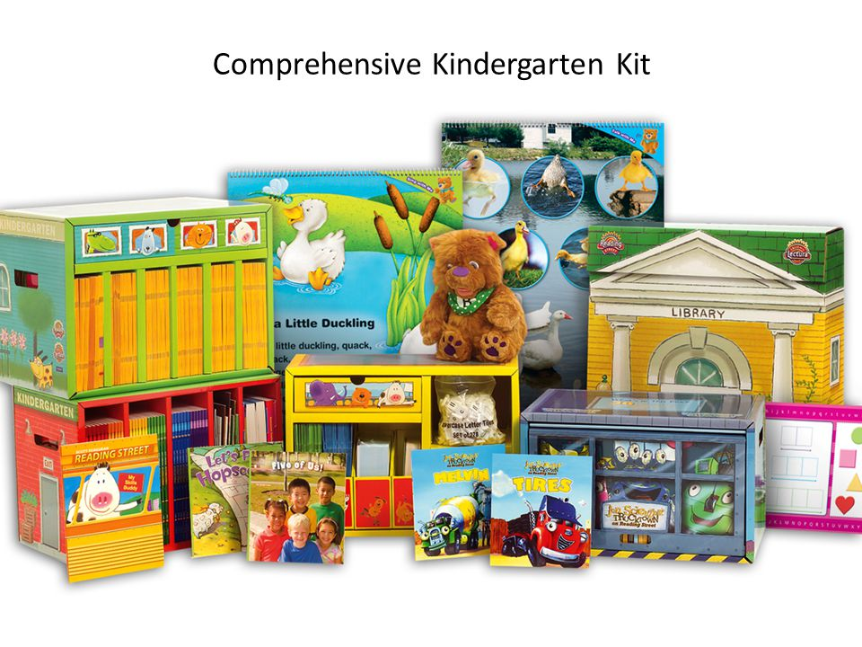 Comprehensive Kindergarten Kit