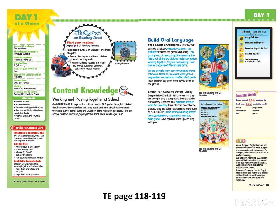7 TE page 118-119