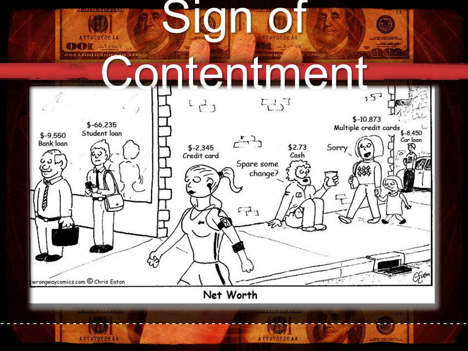 Sign of Contentment