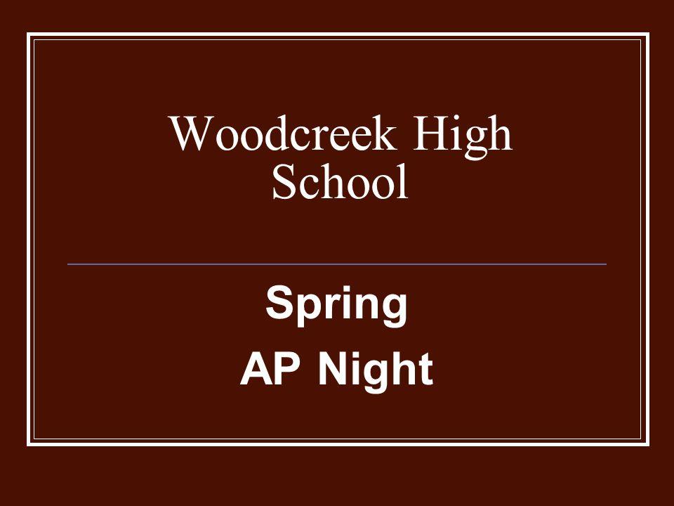 Woodcreek High School Spring AP Night