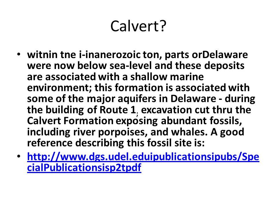 Calvert.