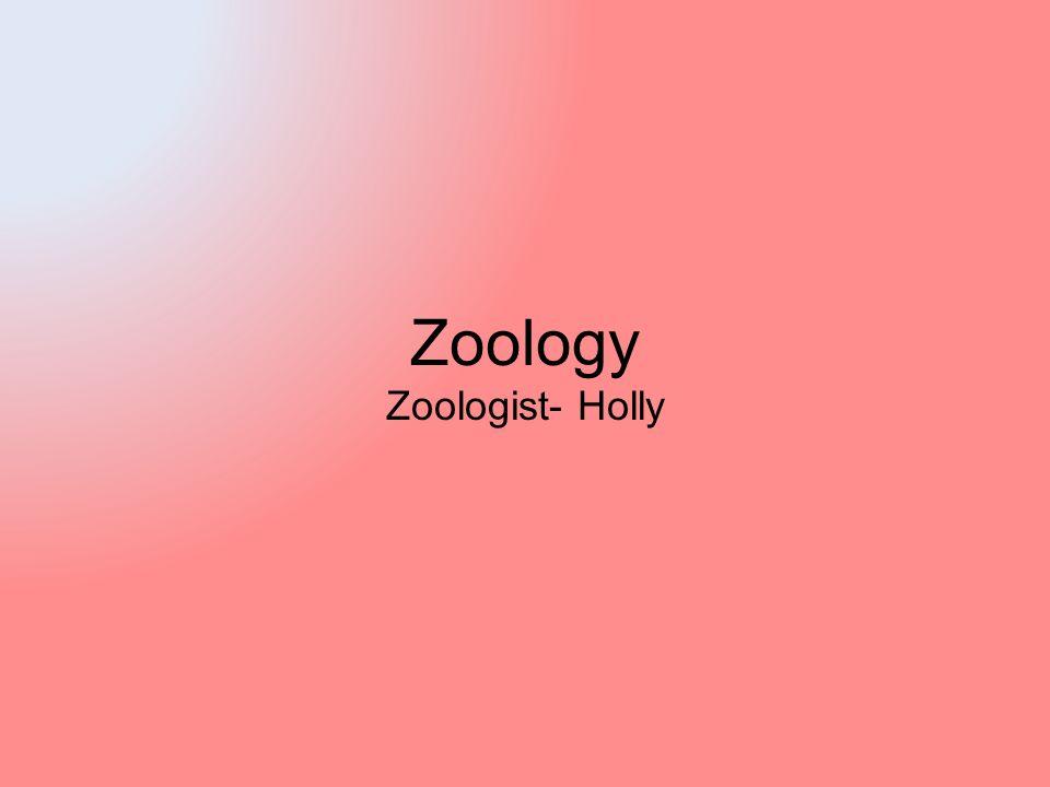 Zoology Zoologist- Holly