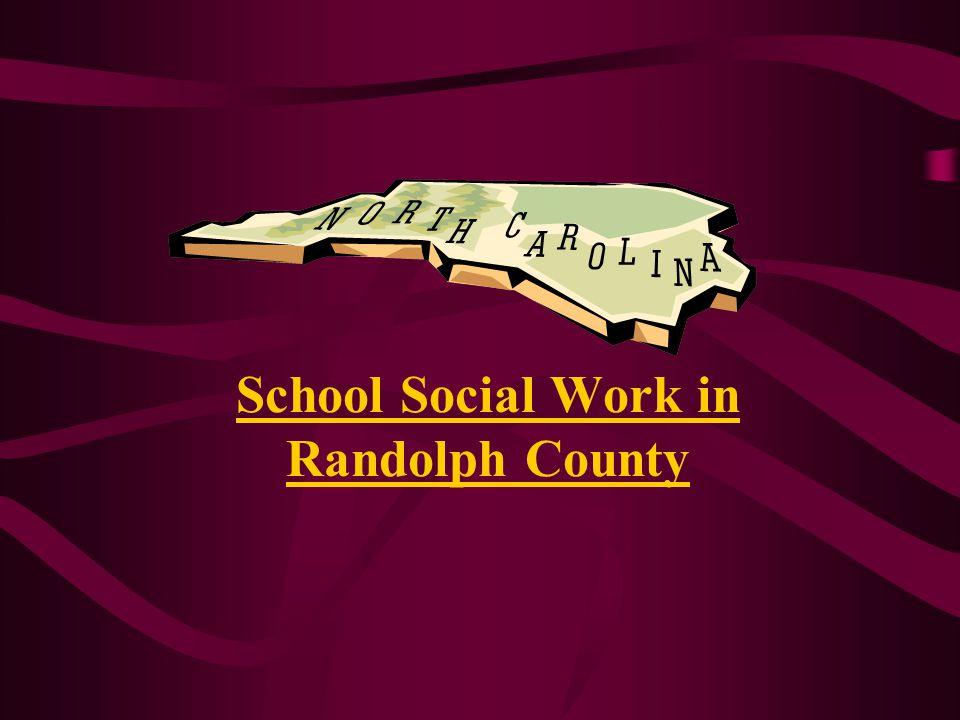 School Social Work in Randolph County