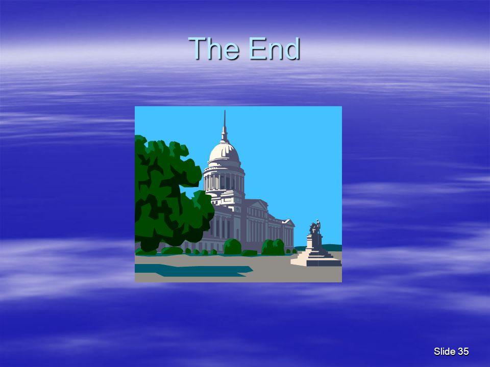 The End Slide 35