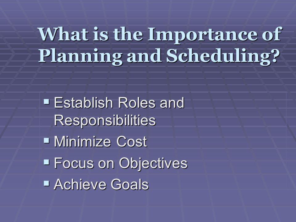 Intermediate Scheduling Annual Work Plan (AW Screen) Period Plan (RI & PP Screen)