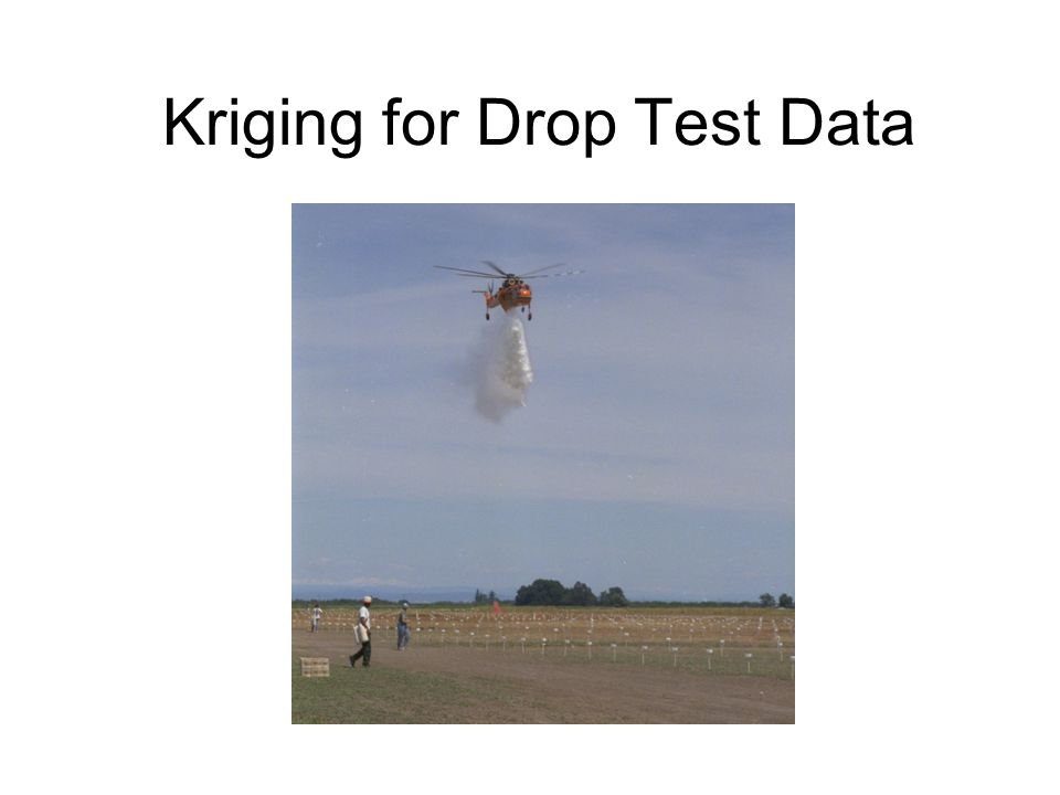 Kriging for Drop Test Data