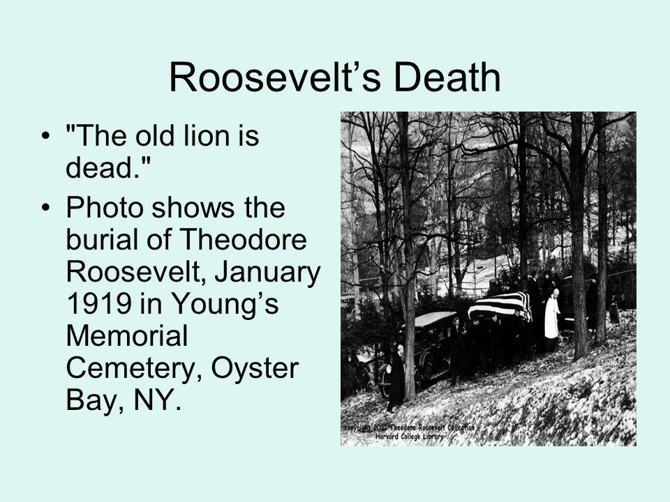 Roosevelt's Death