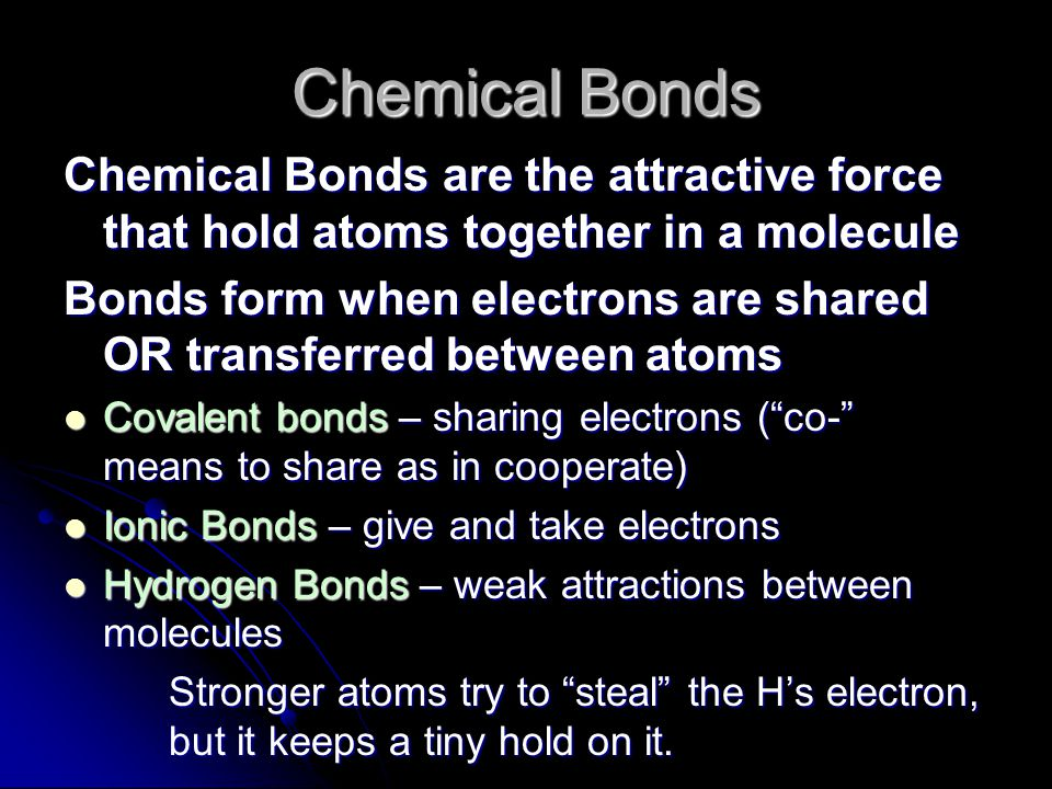 Nonpolar Covalent Bonds Electrons are shared equally Electrons are shared equally