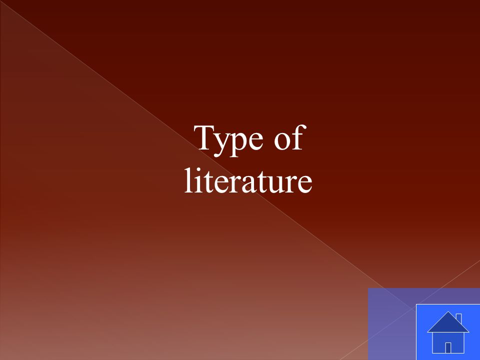 Type of literature