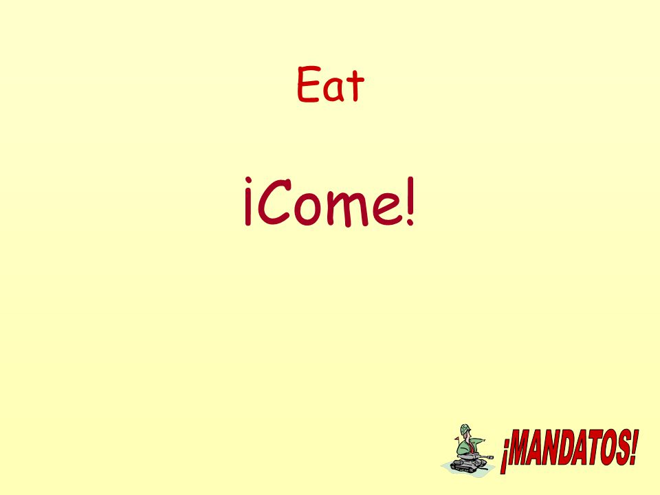 Eat ¡Come!