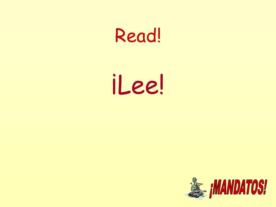 Read! ¡Lee!