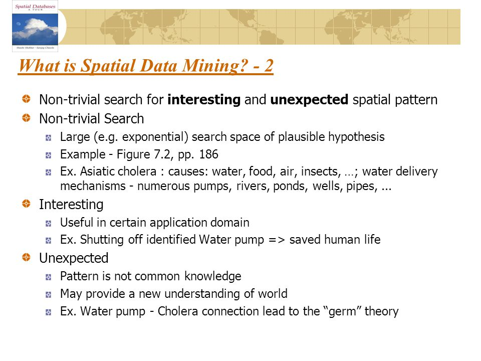 What is Spatial Data Mining.