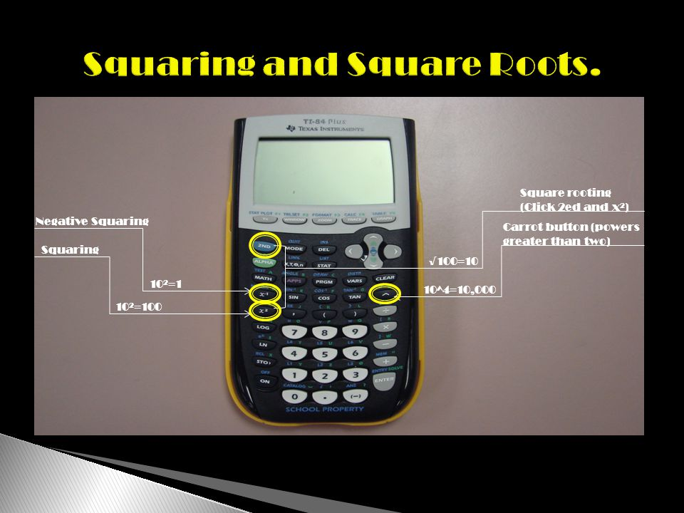 In order to make a table on the TI-84, there are a series of steps you must complete.