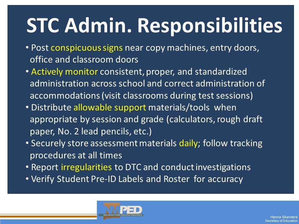 7 STC Admin.