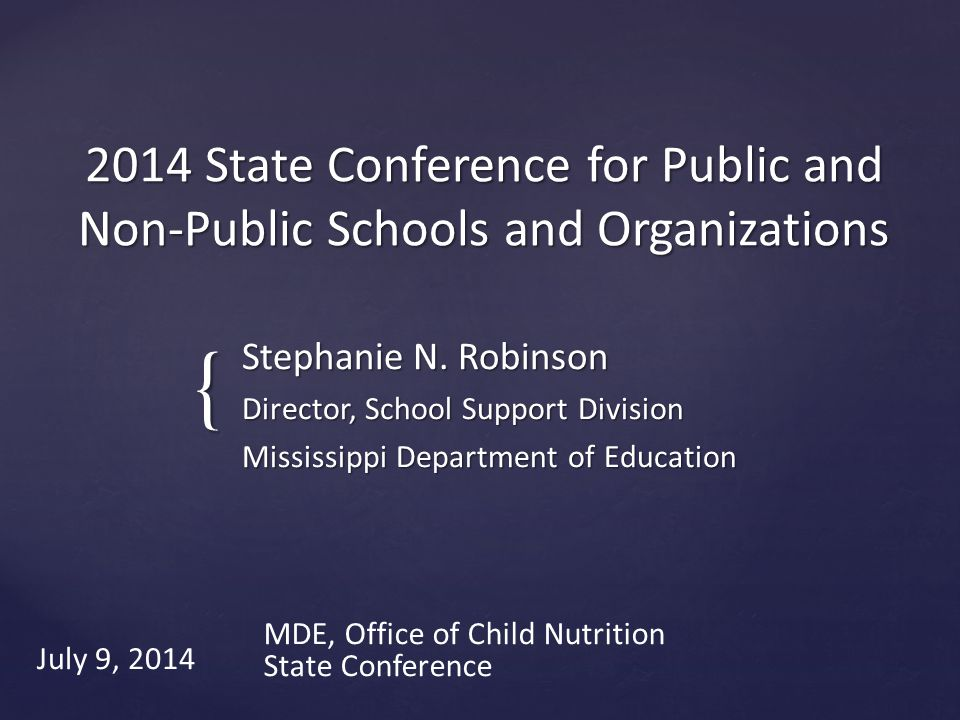 Questions/Contact Info Office of Child Nutrition 601.576.4955 Stephanie N.