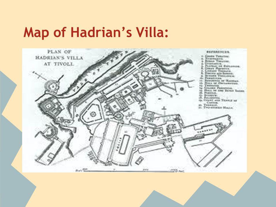 Map of Hadrian's Villa: http://quod.lib.umich.edu/u/ummu2ic/x-ls002702/ls002702