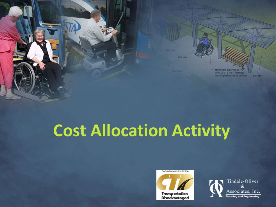 Cost Allocation Activity