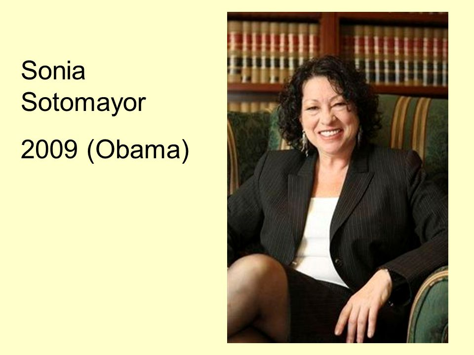 Sonia Sotomayor 2009 (Obama)