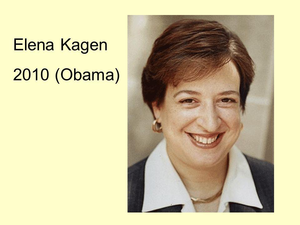 Elena Kagen 2010 (Obama)