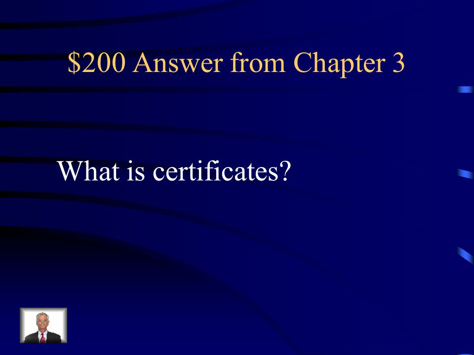 $200 Question from Chapter 3 What is one way to recognize students