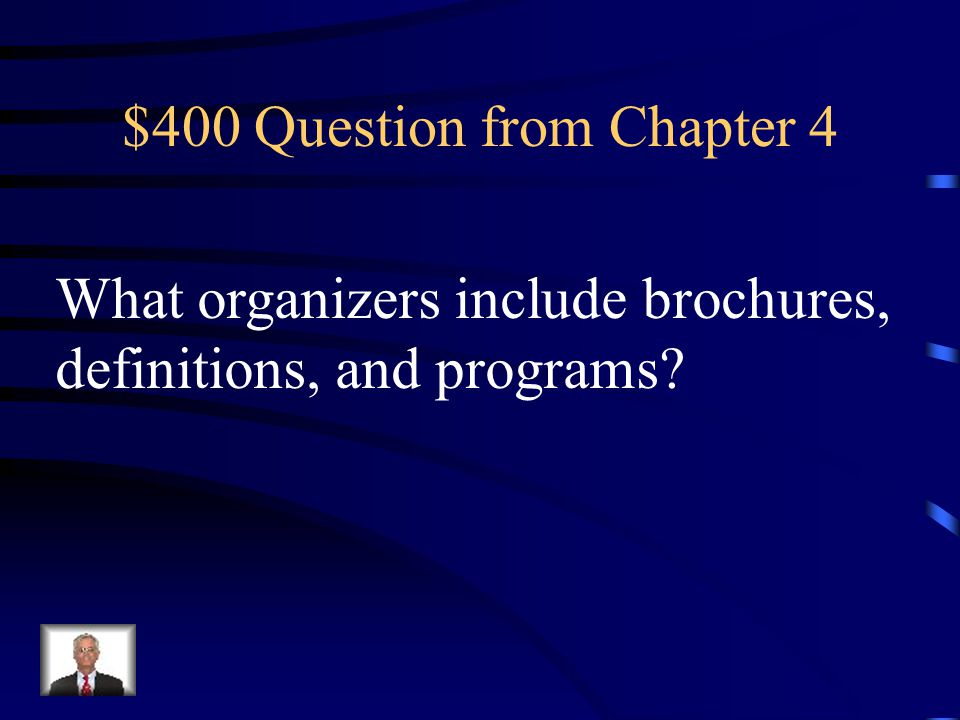 $300 Answer from Chapter 4 What is Bloom's Taxonomy