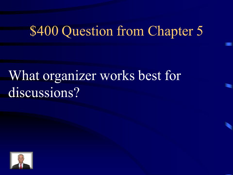 $300 Answer from Chapter 5 What is Generalization/Principal Pattern