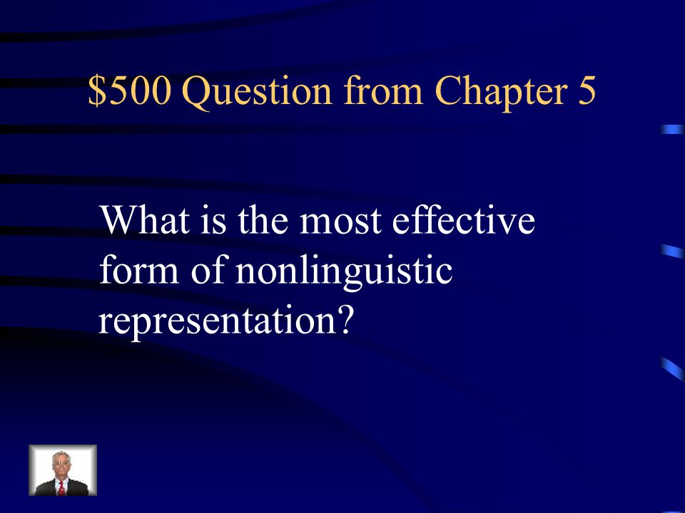 $400 Answer from Chapter 5 What is Process/Cause-Effect