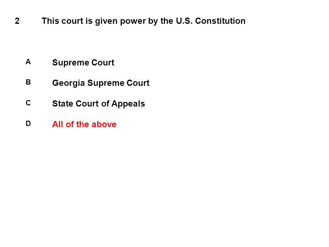 2This court is given power by the U.S.